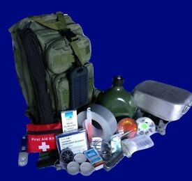 DisasterMaster Survival Kit (Flagship Edition) - Unused. Ideal to stow away for emergency situations