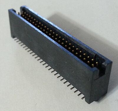 Header Connector Shrouded Smd .050 50-pin Samtec Tfm-125-02-f-d-a New 16pcs