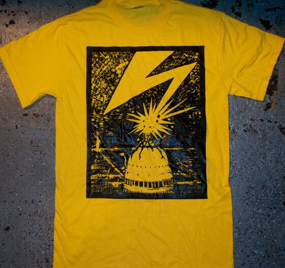 Bad Brains  - 'DC' T - Shirt (punk oi cro mags minor black agnostic ssd kbd)