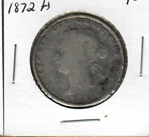 Canada 50 cents 1872-H VG