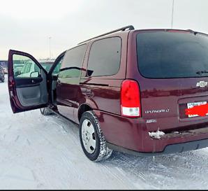Neat 2008 Chevrolet Uplander
