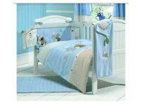 5 piece cot bedding set