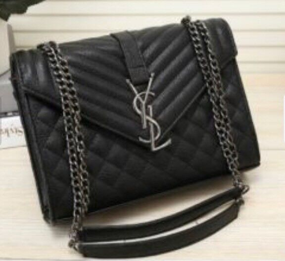 Yves Saint Lau Ysl Black Bag New