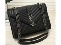 YVES SAINT LAURENT (YSL) BLACK BAG - NEW