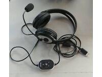 Microsoft LifeChat LX-3000 Headphones with Mic