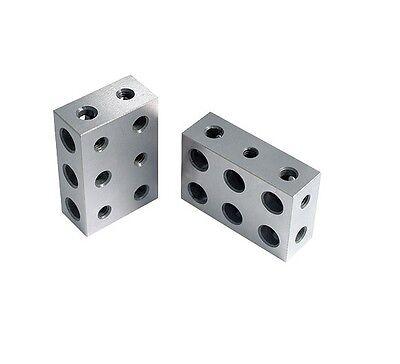 1-2-3 Precision Block Set 11 Holes Ultra Precision