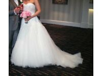 Mark Lesley designer wedding dress
