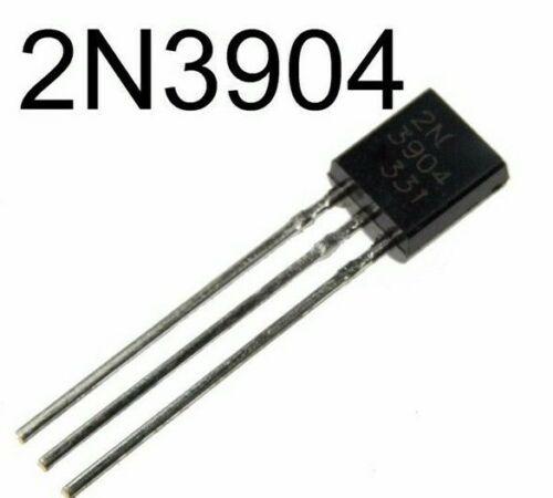 100pcs 2n3904 General Purpose NPN Transistor TO-92 SOLD/SHIP USA