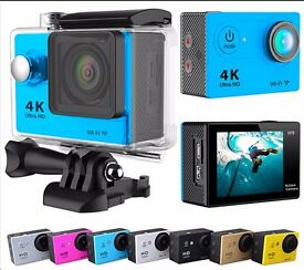 Eken h9 4k Action camera with accessories can be linked to app