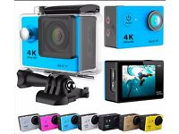 Eken h9 4k Action camera with accessories (can be linked to app)