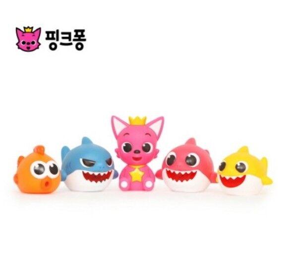Pinkfong Shark Family, die Play Gun 5p für Kinder und Babys badet