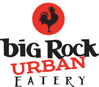 Big Rock Urban Eatery hiring for all FOH positions