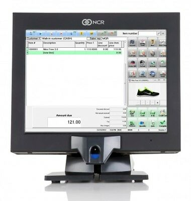 Ncr P1530 Pos Touchscreen Terminal 7754 Wnew Glassbiometric120gbssdwindows10