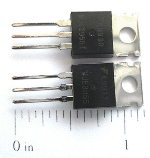MJE2955T MJE3055T Power Silicon Transistors (10 each