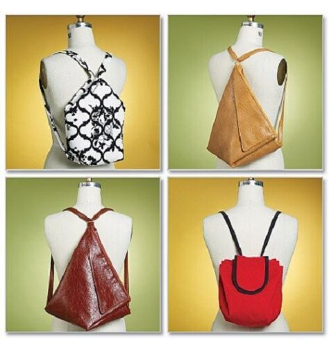 Butterick 5505 - Another Backpack Sewing Pattern Option...3 Designs