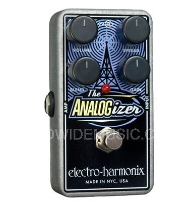 EHX Electro Harmonix ANALOGIZER Pre-amp, EQ, Tone Shaping Guitar Effects Pedal