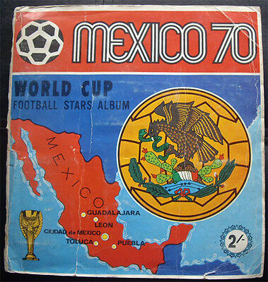 100% COMPLETE PANINI WORLD CUP 1970 MEXICO 70 STICKER ALBUM