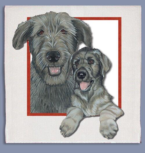Irish Wolfhound Dish Towel