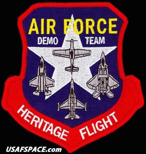 AIR FORCE HERITAGE FLIGHT PROGRAM- FIGHTER DEMO TEAM - ORIGINAL USAF PATCH F-35