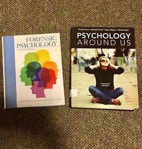 Textbooks Forensic Psychology and Psychology Around Us