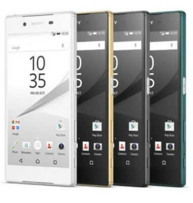 Sony Xperia Z5 501SO LTE GSM Unlocked Smartphone Cell Phone AT&T T-Mobile 32GB