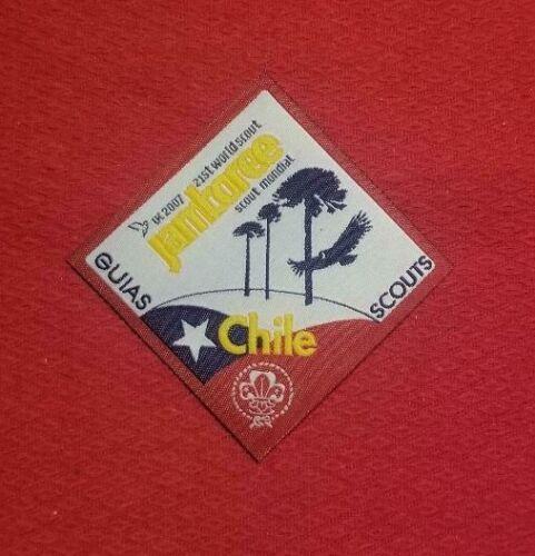 2007 Chile Contingent Poeket Patch World Jamboree