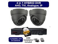 CCTV INSTALLATIONS / HD quality / watch on your phone /