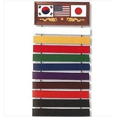 Expositor Cinturones Cinturón Estar de Pie Karate Artes Marciales Obi Judo Tkd
