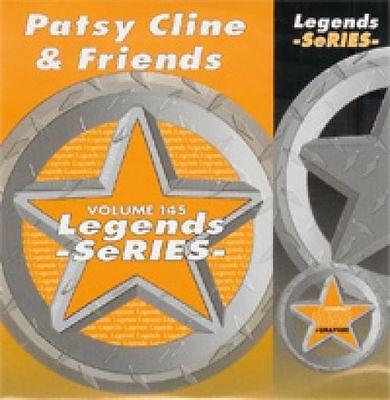 Patsy Cline & Friends Legends  Karaoke Disc CDG CRAZY Sweet Dreams FADED LOVE Crazy Love Karaoke
