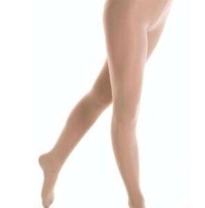 Collant beige mondor à pied medium