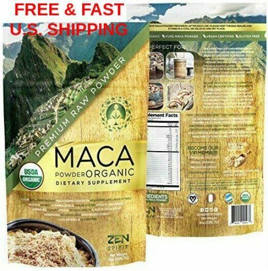 ORGANIC Peruvian Premium Grade Pure Maca Root Powder Superfo
