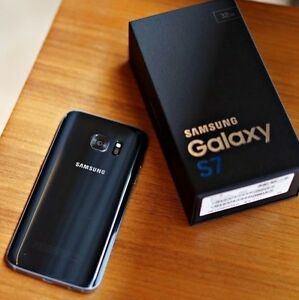 GALAXY **s7--*32GB >>NEW In BOX >>UNLOCKED>>ONYX / BLACK>>WRNTY!