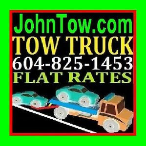 TOW TRUCK-FLAT RATES 604-825-1453(TOWING)TRICITIES,Fraser Valley