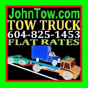 TOW TRUCK(FLAT RATES)TOWING*604)825-1453*Delta,Surrey,Langley