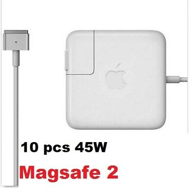 """10 X Apple 45W MagSafe 2 Charger Power Adapter Cord for 11"""" & 13"""" MacBook Air"""