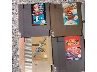 4 RARE RETRO NES GAMES