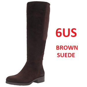 NEW WOMENS BANDOLINO WOMENS SIZE 6 SUEDE KNEE HIGH BOOTS