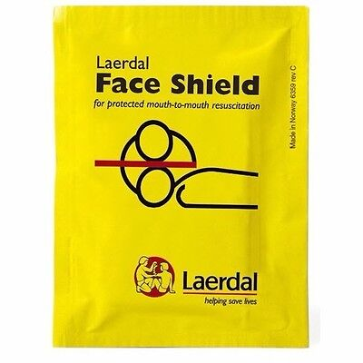 Laerdal CPR Face Shield Isolation Barrier 3M Filtrete Hydrophobic Filter (Laerdal Face Shields)
