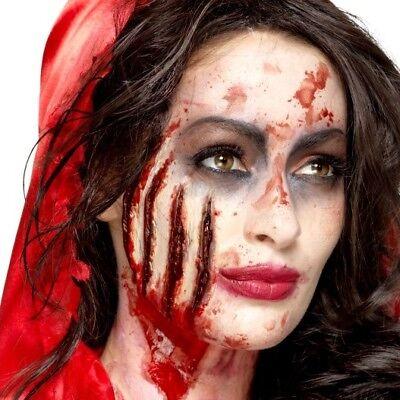 Halloween Horror Werewolf Claw Wound Fancy Dress Make Up Prosthetic by Smiffys