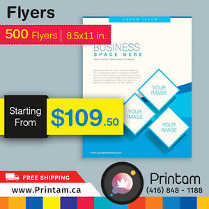 Promote your Business with Full Page Flyers -Starting $35.92 Kitchener / Waterloo Kitchener Area image 3