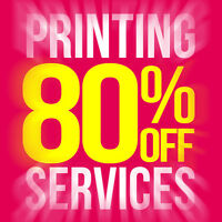 ★80% OFF on Printing - Save on Spring Sale★