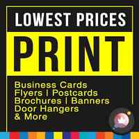 Standard Business Cards Starting $17.12 - Amazing Deal