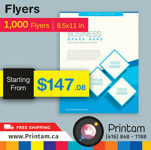 Promote your Business with Full Page Flyers -Starting $35.92 Kitchener / Waterloo Kitchener Area image 9