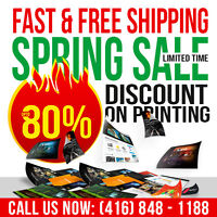 ★Spring Sale on Business Cards Printing 80% OFF★