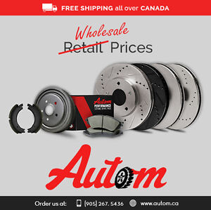 Advanced Technology Brake Pads and Rotors for your Car Oakville / Halton Region Toronto (GTA) image 2