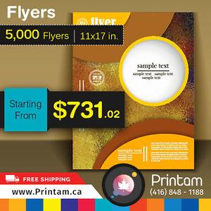 100lb Glossy 10000 Large Flyers - Just for $1255.33 Oakville / Halton Region Toronto (GTA) image 6
