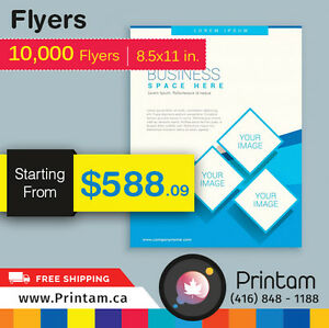 Promote your Business with Full Page Flyers -Starting $35.92 Kitchener / Waterloo Kitchener Area image 5