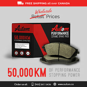 Advanced Technology Brake Pads and Rotors for your Car Oakville / Halton Region Toronto (GTA) image 6