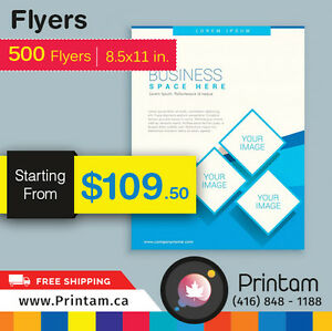 Thinking of Promoting Business ? Print Flyers with us Kitchener / Waterloo Kitchener Area image 2