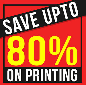 ★Want to Print Flyers/Brochures Get 80% OFF★